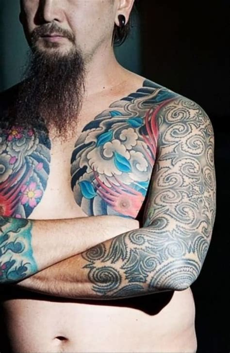 tattoo on chest and arm extreme tattoo images designs