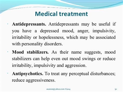 can antidepressants cause mood swings personality disorders