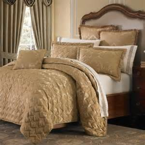 Bed Coverlet Buy Gold Coverlet From Bed Bath Amp Beyond