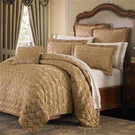 Bed Coverlet Buy Gold Coverlet From Bed Bath Beyond