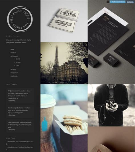 tumblr themes free instagram 17 best images about 8 more of the best portfolio tumblr