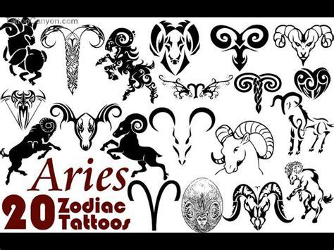 aries zodiac tattoo image some aries zodiac tattoo designs