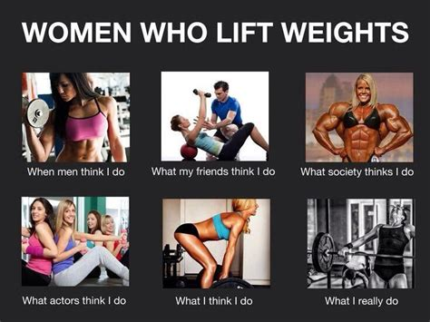Lifting Weights Meme - girls who lift crossfit funny fitness gym humour