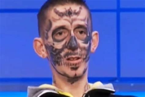 jeremy kyle face tattoo pictures to pin on pinterest