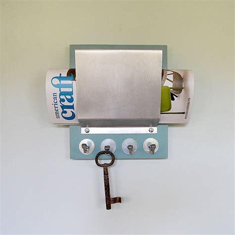 soda mail organizer key holder retro modern stairwell