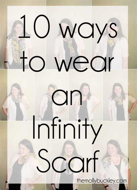 10 ways to wear an infinity scarf style still being molly