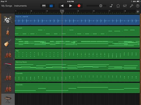 on with garageband for ios and os x macworld
