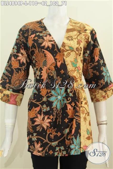 Jual Baju Wearpack Warna Hijau Size L Murah jual baju batik kimono bahan adem motif elegan dual warna busana batik printing khas til