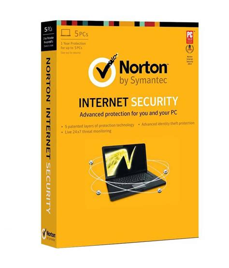 norton security software 2014 5 pc 1 year