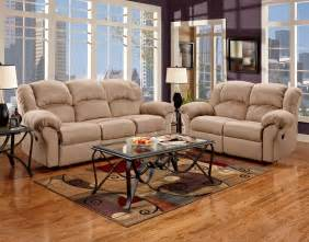Affordable Sofas And Loveseats Living Room Reclining Microfiber Sofa And Loveseat Set