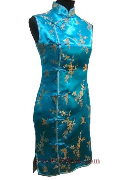 pattern chinese dress satin gold butterfly pattern chinese mini dress chinese