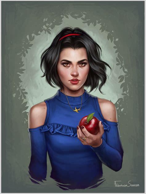 White Snow snow white by fdasuarez on deviantart