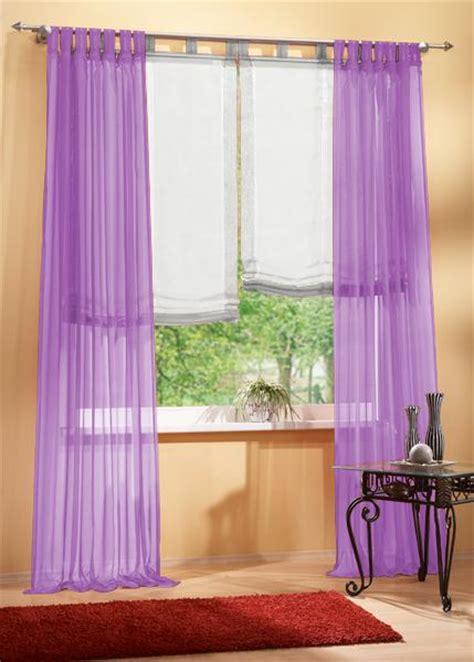 fertige gardinen schals set 4 teile gardine voile und raffrollo farben 2 ebay