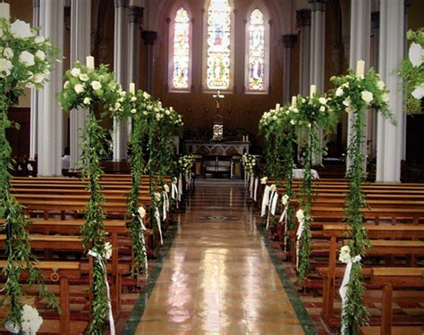 church wedding flower arrangement pictures church wedding decoration ideas on a budget what can i do loveweddingplan
