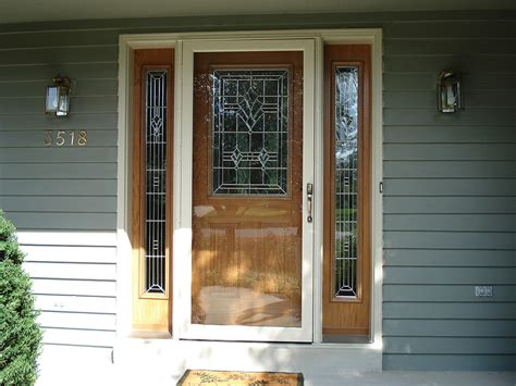Front Door Windows Inspiration Doors And Screen Doors By Larson Distributed From Doorsmith In With Inspiration Ideas