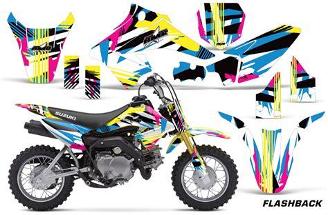 Suzuki Drz 70 Parts Suzuki Motocross Graphics Kit Suzuki Mx Graphics Sticker