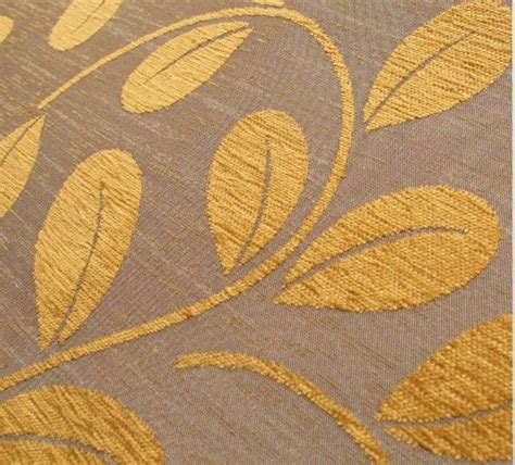 leaf pattern upholstery fabric uk loome the mobberley collection chenille fabric