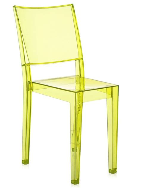 Diskon Maries Orange Cat Acrylic la kartell design chair transparent polycarbonate