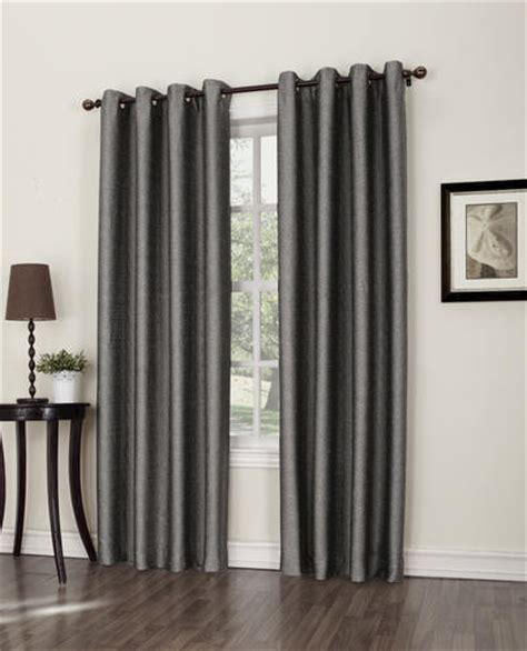 menards curtains s lichtenberg strata grommet top drapery panel 50 quot x 84
