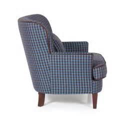 Check Fabric Armchair Moffat Blue Check Arm Chair Blue Tartan Arm Chair