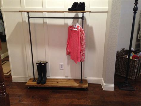 Garment Rack With Top Shelf by Buy A Made Industrial Garment Rack With Top