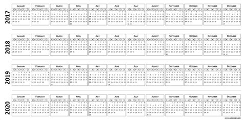 outstanding multi year calendar template pattern example resume