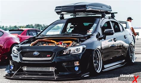 subaru wrx customized custom subaru wrx sti modified black modifiedx