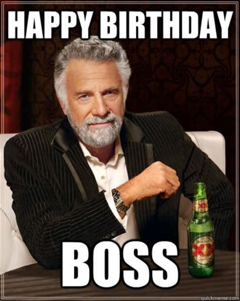 Happy Brithday Meme - 49 funniest boss birthday meme images photos wishmeme