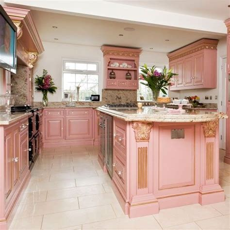 pink kitchens 25 best ideas about pink kitchens on pinterest pink