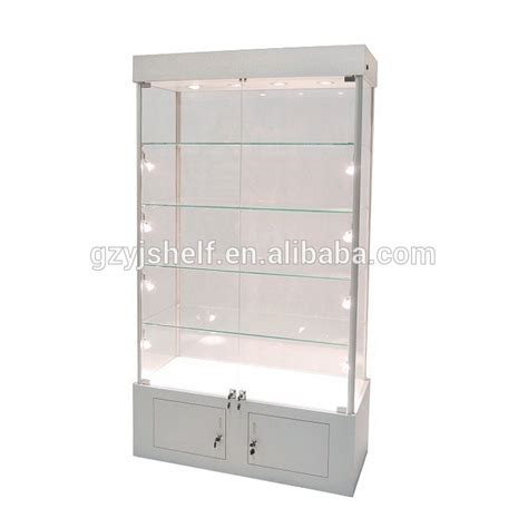 glass shelves for cabinets wall display cabinets for collectibles boutique store