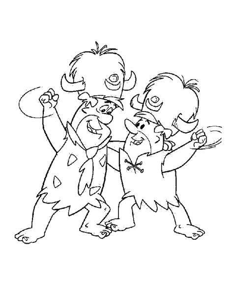 flintstones characters coloring pages coloring pages flintstones coloring pages coloringpages1001 com