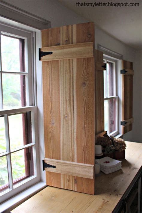 make window diy interior cedar shutters pretty handy girl