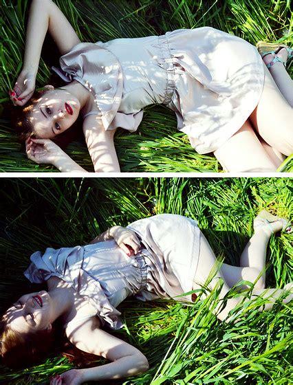 Mademoiselle Japan mademoiselle nadine japan dress grass lookbook