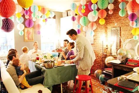 decoration for party at home party to home how to transition the party d 233 cor into your