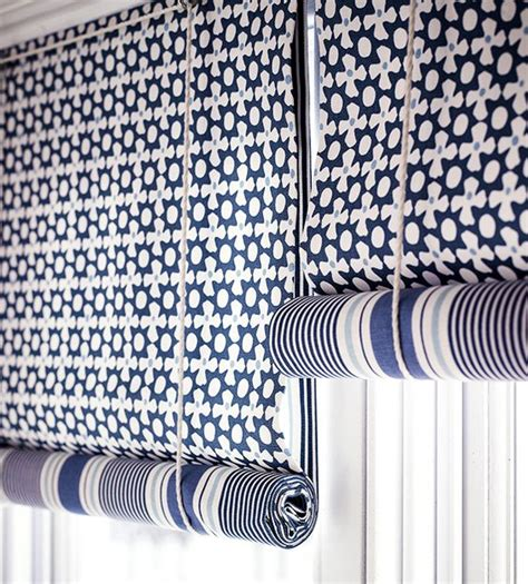 How Do You Put Blinds Down Nautical Blinds Shades Of Blue And Window On Pinterest