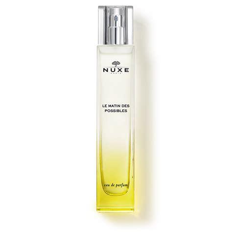 eau de parfum fleur d oranger eau de parfum le matin des possibles nuxe nuxe