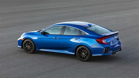 honda si 2020 2020 honda civic si coupe and sedan revealed with some
