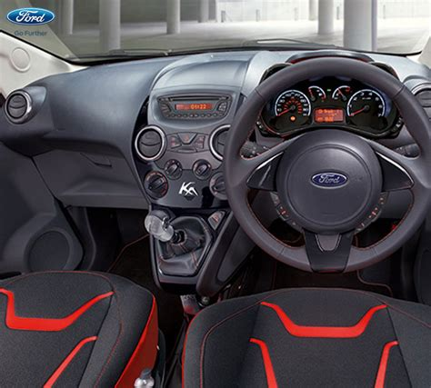 New Ka Interior by Ford Ka New Ford Figo Facelift India Brazil