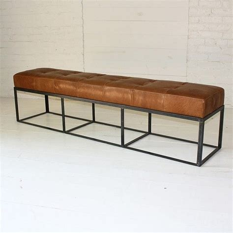 long leather bench seat best 20 leather bench ideas on pinterest
