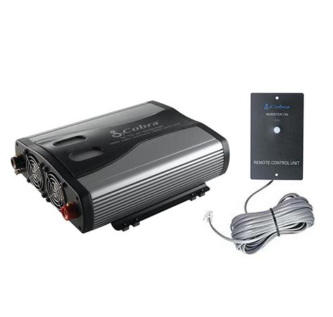Remot Remote Ac Panasonic Inverter Kw cobra cpi1575 1500 watt 3 outlets dc to ac car power