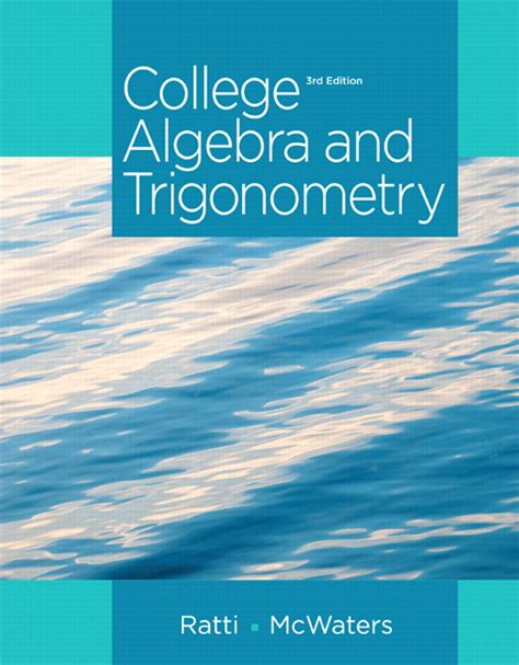 trigonometry books a la carte edition 2nd edition ebook ratti mcwaters college algebra and trigonometry 3rd