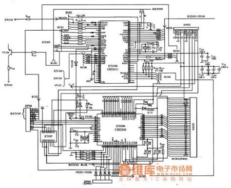 micro integrated circuit memory ch52010 display micro computer integrated circuit other circuit electrical equipment