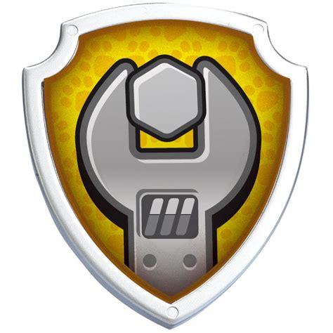 Paw Patrol My Library paw patrol badges jpg freeuse library techflourish