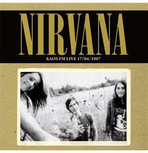 Kaos Nirvana Black Uk vynil nirvana kaos fm live 17 04 1989 for only 163 22 63