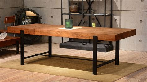 rustic dining room tables industrial wood modern rustic dining table industrial
