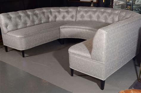 Sofa Banquette by Exceptional Tufted Sectional Sofa Banquette In