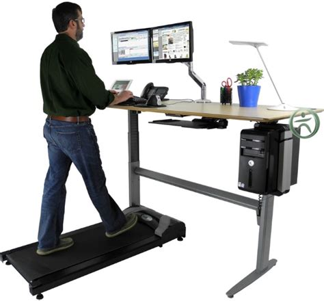 Computer Desk Treadmill Walk While You Work With An Uplift Treadmill Desk Innovativeoffice Ergonomic Tips