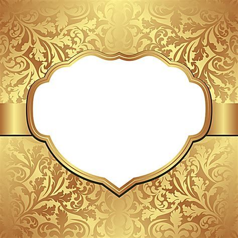Wedding Background For Invitation Card by Golden Wedding Invitation Card Vector Background Golden