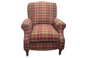 Outdoor Loveseat Furniture Dory Plaid Accent Recliner