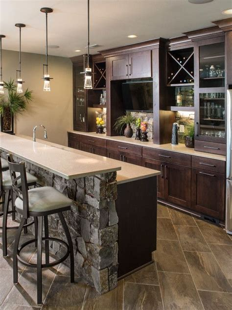 25 best ideas about modern home bar on home